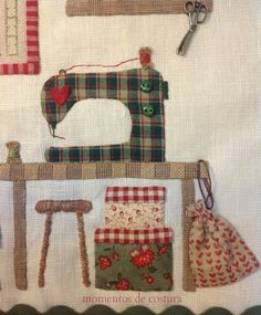 3-Aplicación para funda de archivador Sewing Appliques, Applique Patterns, Applique Quilts, Quilt Patterns, Sewing Machine Quilt Block, Cushion Embroidery, Log Cabin Quilt Pattern, Sewing Crafts, Sewing Projects