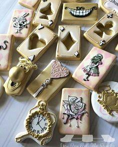 Alice Wonderland Cookies