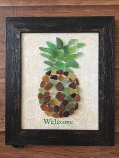 Recycled Glass art DIY - Glass art Sculpture Peter Otoole - Sea Glass art Shadow Box - - Shard Glass art On Canvas Sea Glass Mosaic, Sea Glass Beach, Sea Glass Art, Stained Glass Art, Sea Glass Jewelry, Mosaic Rocks, Silver Jewellery, Sea Crafts, Sea Glass Crafts