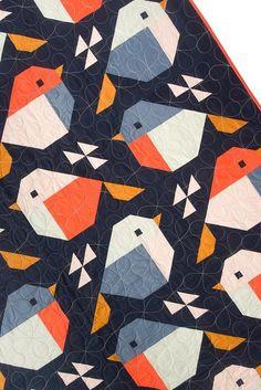 Baby Quilt Patterns, Modern Quilt Patterns, Paper Pieced Quilt Patterns, Paper Patterns, Paper Piecing, Quilting Projects, Quilting Designs, Sewing Projects, Quilts Using Fat Quarters