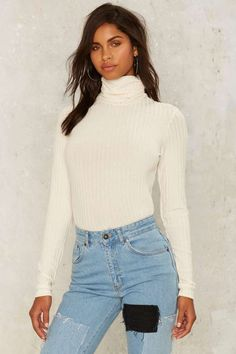 Round Trip Ribbed Top - Clothes | Basics