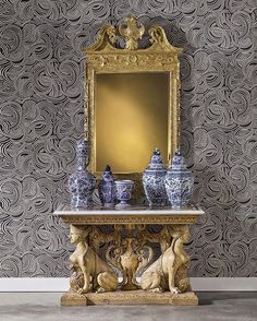 Something old, something new…and something blue! These Dutch Delft Blue and White Vases are part of our fall exhibitions of furniture & decorative arts, now are on view through 18 October in #NYC. This season, our exhibitions have been designed in collaboration with English paint and wallpaper company @farrowandball. #SothebysDecArts #FaBwallpaper