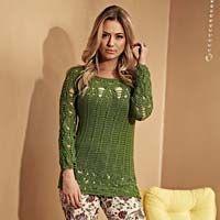 Blusa Nice Verde - Fio Nice