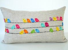 Birdy cushion.