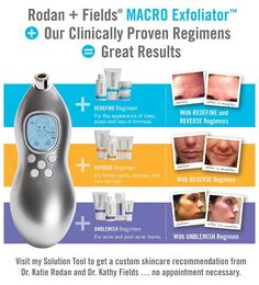 Rodan + Fields REDEFINE MACRO Exfoliator, in combination with our clinically proven Multi-Med® Therapy regimens, creates transformative results. Comment here to share your results. #RodanandFields #RFMACROE