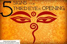 5 Definitive Signs Your Third Eye Is Opening