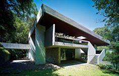 Risultati immagini per Seidler House, Killara, Australia Australian Architecture, Modern Architecture, Architecture Interiors, Building Architecture, Brutalist Buildings, Walter Gropius, Modern Style Homes, Building Exterior, California Homes
