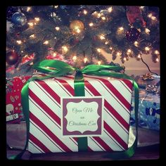 Family Traditions: The Christmas Eve Box