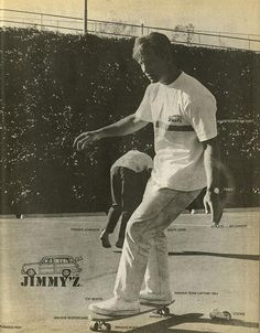 Jimmy'z Clothing - Jim Ganzer Ad (1987)