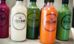 New York design studio Mpire Creative was tasked with creating WellBar NYC's branding and packaging. Their approach was to create a branding that was modern and that appeals to the healthy consumer.