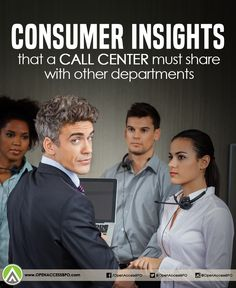 Here's why #CallCenters must share the #ConsumerInsights they gather with other departments.