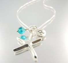 GIVEAWAY: My Special Starfish Necklace Personalized Initial + Birthstone. Like Camla FB to win it this Monday, 8/20.