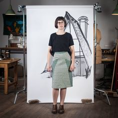 A-Frame Skirt pattern.