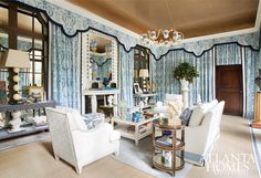 Design by Timothy Corrigan; Timothy Corrigan, Inc.   Photographed by Erica George Dines   Atlanta Homes & Lifestyles  
