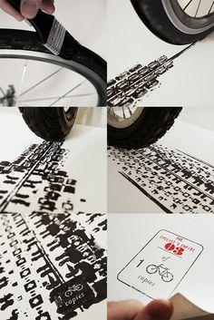 100copies: Bicycle Artworks by Thomas Yang