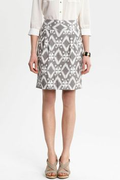 pretty patterned skirt