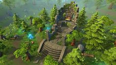 Elevate your workflow with the Lowpoly Forest Ruins asset from Evgenia. Find this & other Fantasy options on the Unity Asset Store. Game Environment, Environment Concept Art, Environment Design, 3d Fantasy, Fantasy Landscape, Landscape Architecture, Concept Art Tutorial, Mystical Forest, 3d Assets