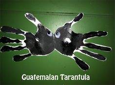 Get your hands a little dirty and have a ton of fun making a Guatemalan Tarantula!