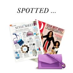 Spotted in the April issue of @Oprah magazine, the Ultimate Crossbody is the ultimate bag for spring!