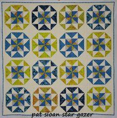 Pat Sloan: Star Gazer pattern closeup - Pat Sloan's Blog