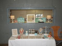My display at an event to benefit the Girl Scouts