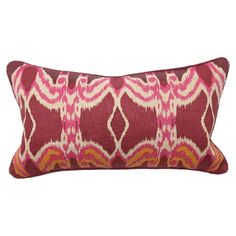 I pinned this Bohemian Ikat Pillow from the Grape & Grapefruit event at Joss and Main! I can't get enough Ikat!