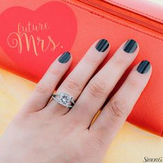 Go from Miss to Mrs. with Simon G. Jewelry! See the possibilities on our website: