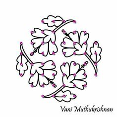 8*4-4 Rangoli Patterns, Rangoli Kolam Designs, Rangoli Ideas, Kolam Rangoli, Flower Rangoli, Indian Rangoli, Easy Rangoli, Simple Rangoli Designs Images, Rangoli Designs With Dots