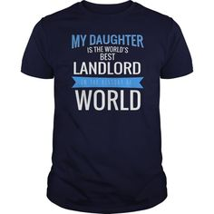 Landlord My Daughter Is The Best  Pub Landlord T Shirts #pub #landlord #t #shirts