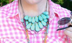 diy clay teardrop necklace - Craft Corners The place for Craft Ideas | Our team is a bunch of craft loving do-it-yourselfers who like to come up with their own creations.