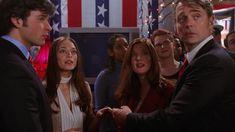 Jonathan Kent running for a  senatorial seat.. ( Smallville )