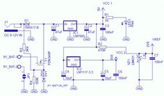 microcontroller  power supply circuit