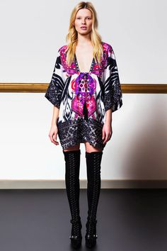 Emilio Pucci Pre-Fall 2014 Collection Slideshow on Style.com