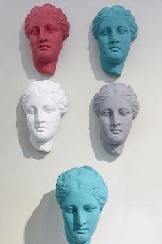 Angel Sculpture, Sculpture Painting, Rome Exhibition, Window Display Design, Memphis Design, Sculpture Projects, Cute Diys, Design Show, Installation Art