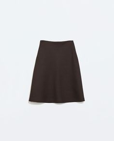 Image 7 of A-LINE PATTERNED WEAVE SKIRT from Zara