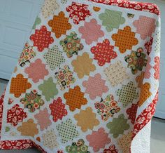 The pattern is Vanilla & Blooms by Fig Tree & Co.