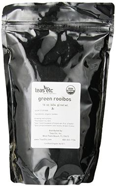 Teas Etc Green Rooibos Organic Loose Leaf Rooibos 16 oz.: Delicious and presumed to be very healthy this organic Rooibos is a more mild version of the red variety. Soft flavor highlight this less oxidized Rooibos, perfect for a relaxing evening. Coffee Store, Loose Leaf Tea, Sweet Notes, Teas, Drinking Tea, Gourmet Recipes, Organic, Canning, Green