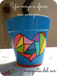 Decorated Flower Pots, Painted Flower Pots, Painted Pots, Hand Painted, Flower Pot Art, Flower Pot Crafts, Clay Pot Projects, Clay Pot Crafts, Pottery Pots