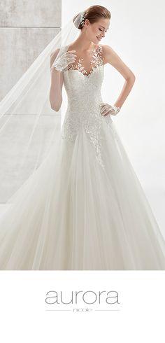 Wedding Dresses Aurora, wedding dresses collection 2019, Nicole Fashion Group for Colet, Jolies, Nicole, Aurora, Alessandra Rinaudo and Romance lines