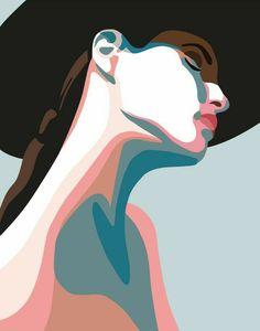 Digitale Kunst - Art and creative making - Art And Illustration, Graphic Design Illustration, Graphic Art, Cartoon Illustrations, Illustration Fashion, Character Illustration, Botanical Illustration, Watercolor Illustration, Inspiration Art