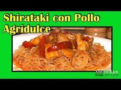 Shirataki con pollo agridulce - Receta Fase Crucero