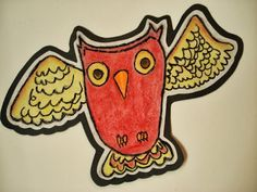 a faithful attempt: Autumn Owls/ Paul Klee inspired pastel project
