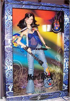 Hard Rock Café Barbie doll. Pink Label. 2005. #J0963.