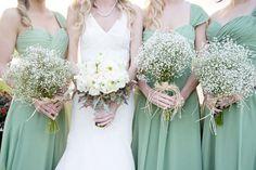 Sage Pale Green Bridesmaids - www.eloises-secret-closet.co.uk