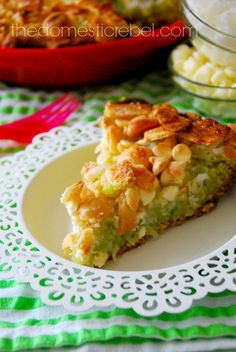 Magic Cookie Bars + Key Lime Pie = Awesome