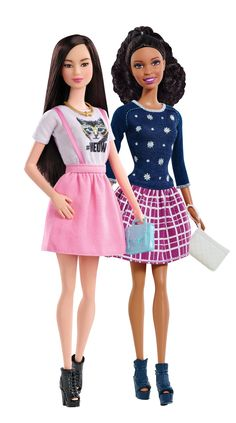 Be Super! Barbie Fashionistas celebrate the diversity in our world [ad]