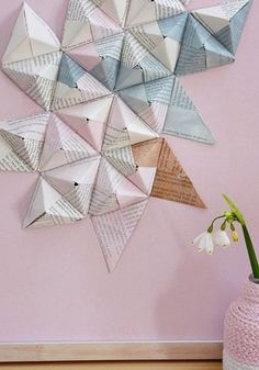 Origamipyramiden selber falten
