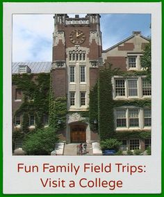 Tour a campus, take an online field trip, watch animals play on a webcam and more ideas for fun learning!