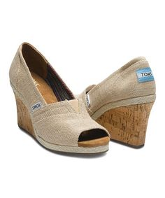 Look what I found on #zulily! Amery Wedge #zulilyfinds and these come in a size 12 !!!!