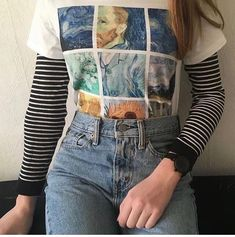 4 Vintage Outfits for young women Grunge Outfits, Edgy Outfits, Mode Outfits, Retro Outfits, Grunge Fashion, 90s Fashion, Korean Fashion, Vintage Outfits, Fashion Outfits